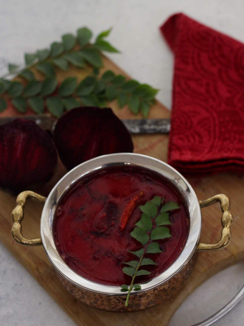 beetroot sambar Indian beetroot recipe