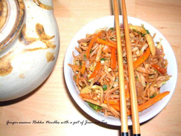 Ginger Sesame Noodles