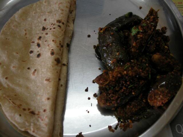 brinjal podi curry