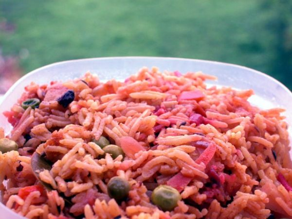 Riot-of- colour Pulao with Yogurt Curry