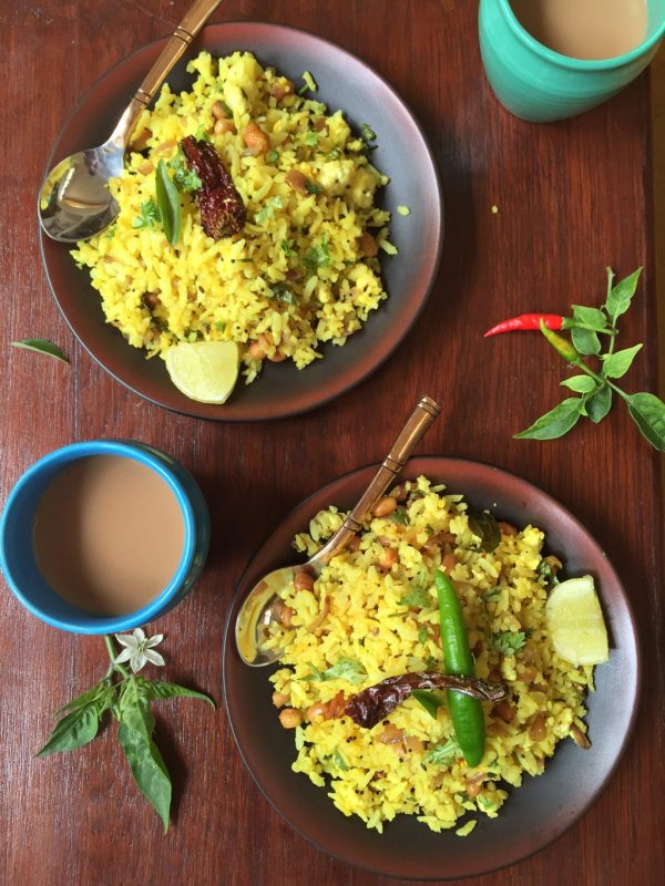 Healthy Poha Made Protein Rich