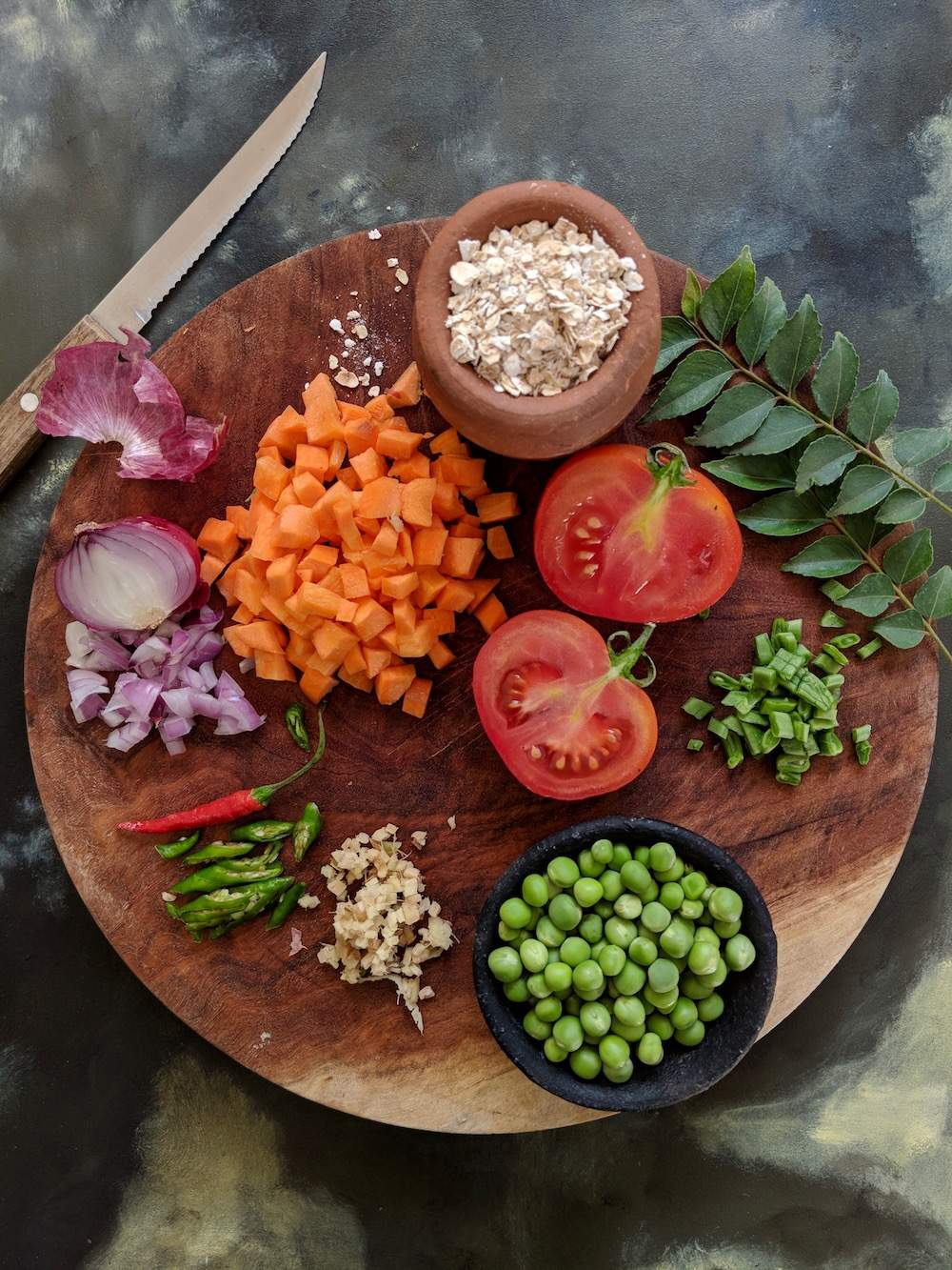 oats for dinner prep