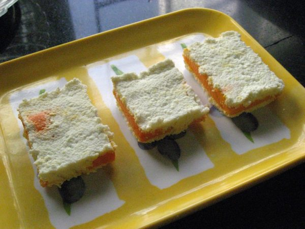 Summer food series # 4 - Quick Mango Sandesh with my friend Preeti