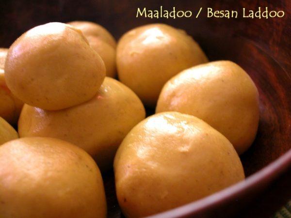 Besan Laddoo / Maaladoo