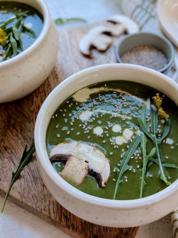 Simple Mushroom Soup