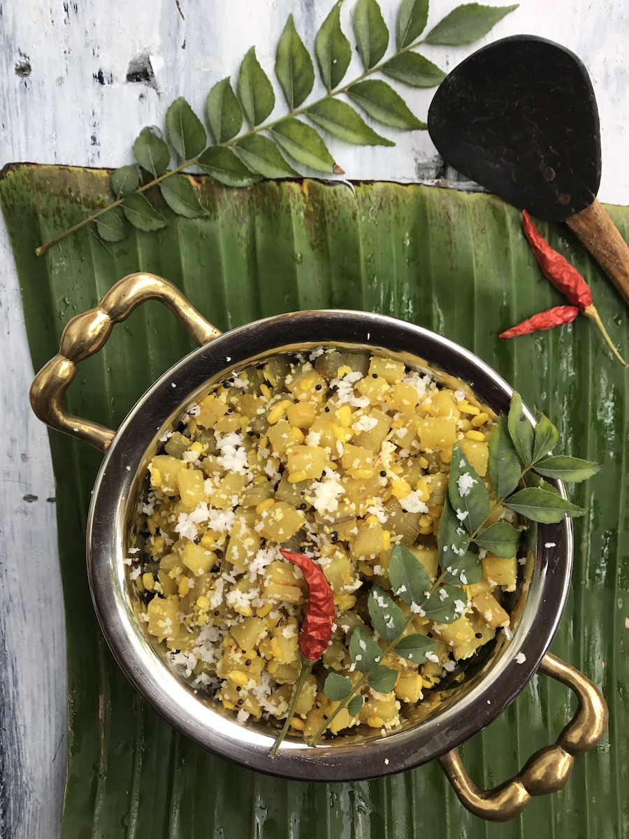 Vazhaithandu-curry-banana-stem-recipe