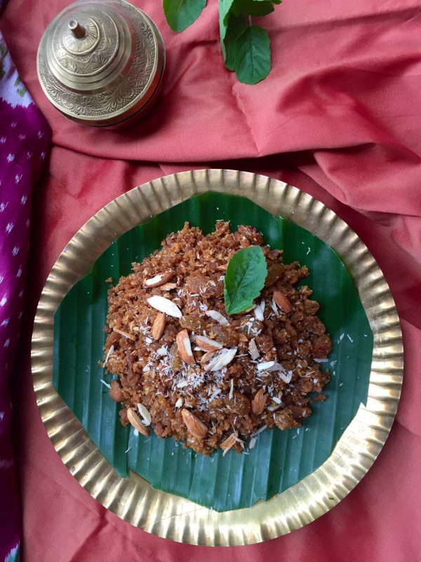 Recipe for Diwali Okkarai