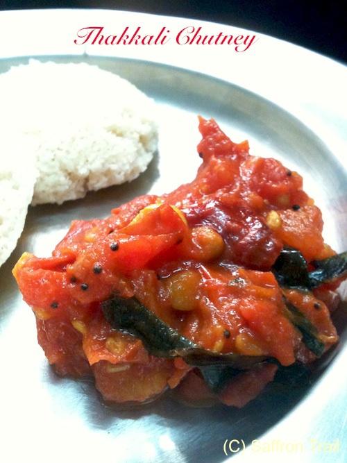 Thakkali Chutney (Tomato chutney)
