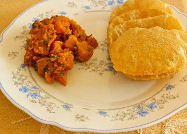 Kaddu ki subzi Punjabi style