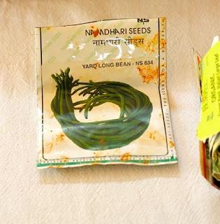 Yard long beans curry : Karamani curry - Garden to plate