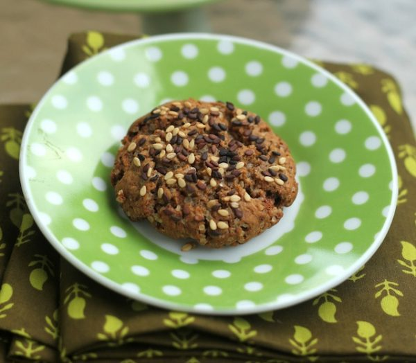 Ragi Ginger Cookies - Healthy Ginger Cookies