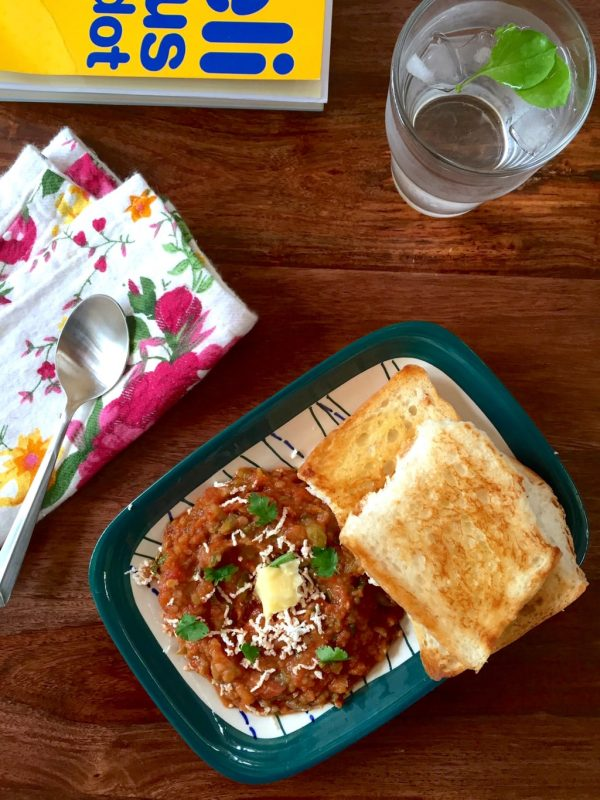 The secrets to a super healthy pav bhaji