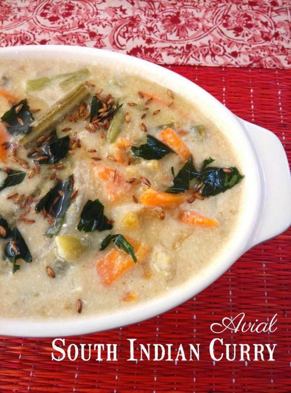 A for Avial - South Indian Curry