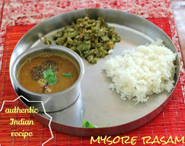 Recipe for Mysore Rasam - Karnataka Cuisine