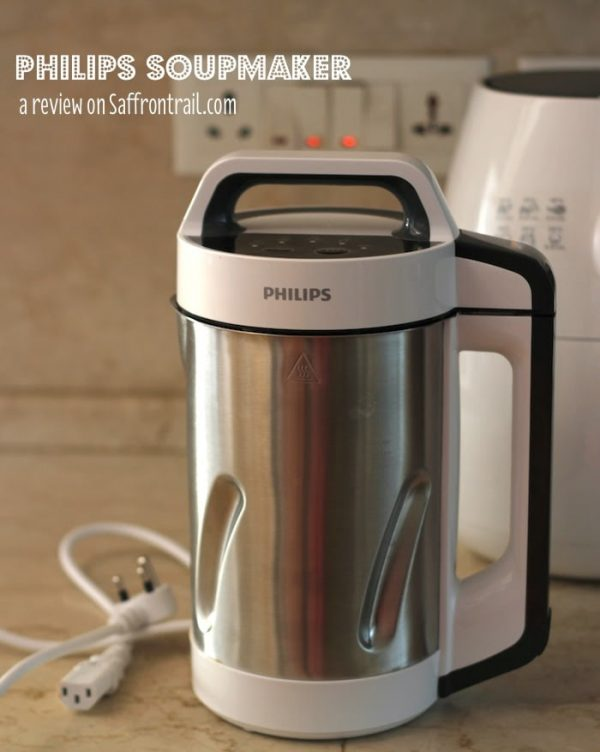 Review of the Philips Soup maker + Giveaway + Recipe for Tomato-Red Bell Pepper Soup