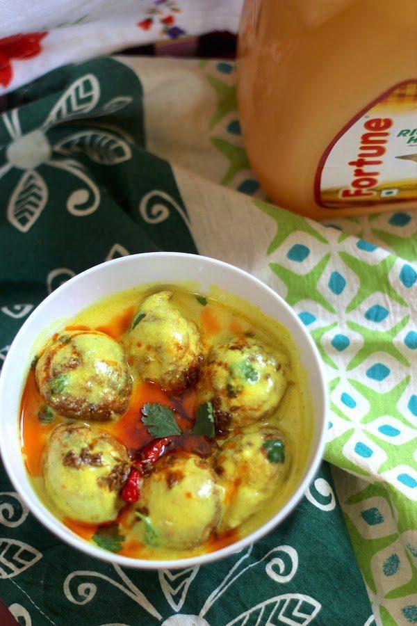 Recipe for Healthy Kadhi Pakodi