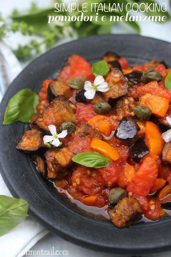 Pomodori e Melanzane | Italian recipe for eggplant in tomato sauce