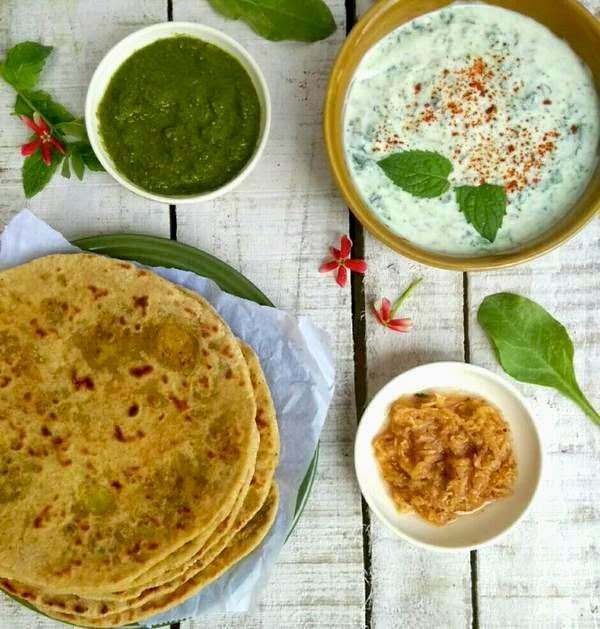 Recipe for Aloo Parathas - Potato stuffed Indian Flatbread