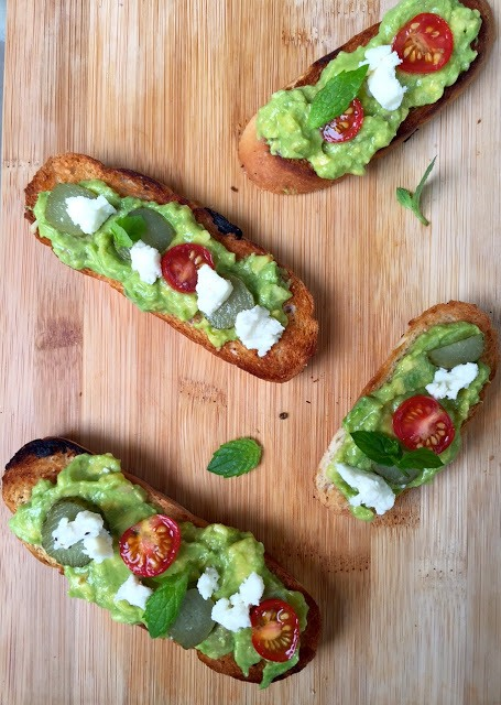 Guacamole on Toast and other ways to use Avocado