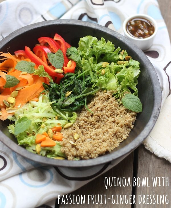 Quinoa Rainbow Salad Bowl
