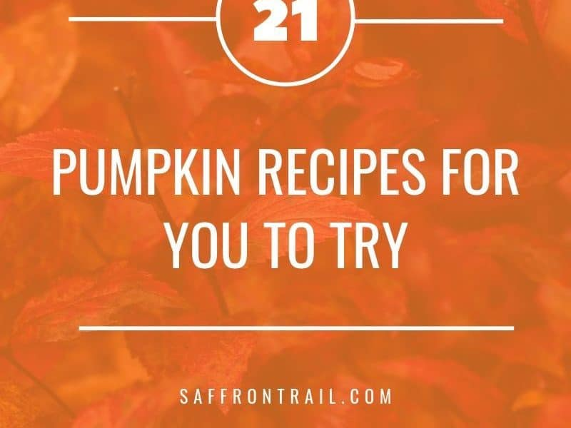vegetarian pumpkin recipes
