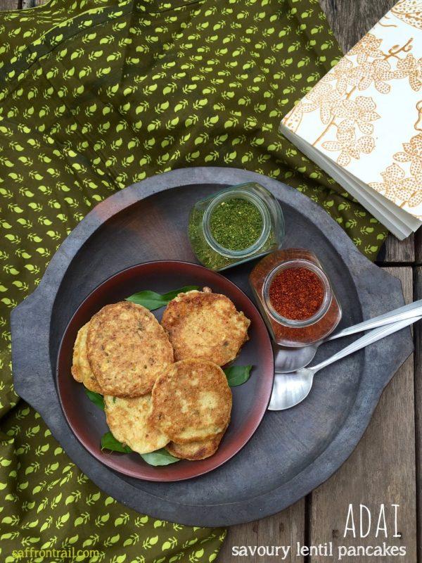 Adai : Savoury Lentil Pancakes - Vegan & Gluten Free!