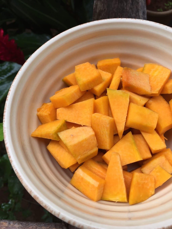 Pumpkin Chaaru - A sweet sour spicy soup