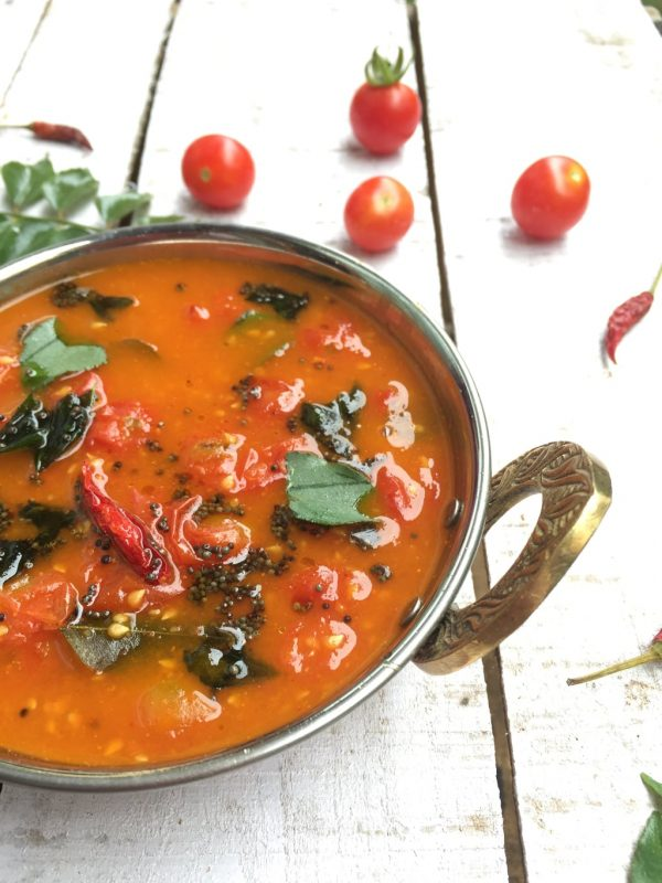 Tomato Gojju - A curry from Karnataka