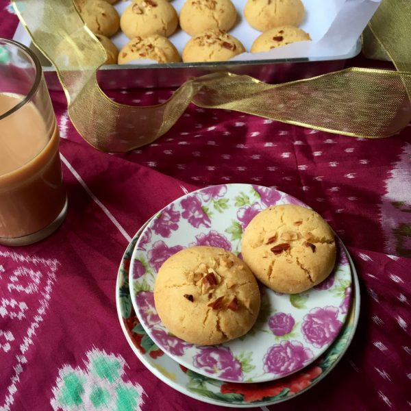 Nankhatai - 5 Ingredient Cookie