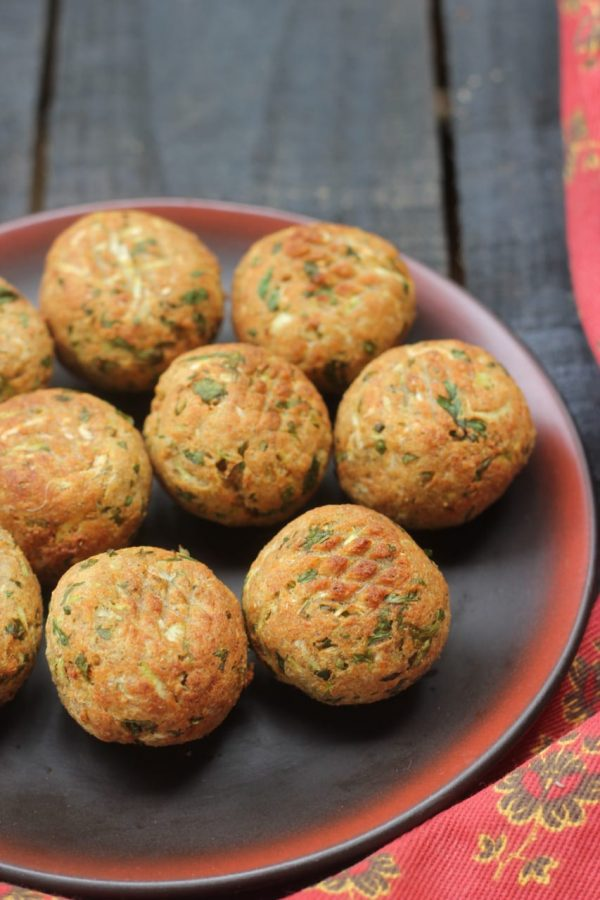 Paneer, Millet and Dudhi Koftas - Airfryer Recipe