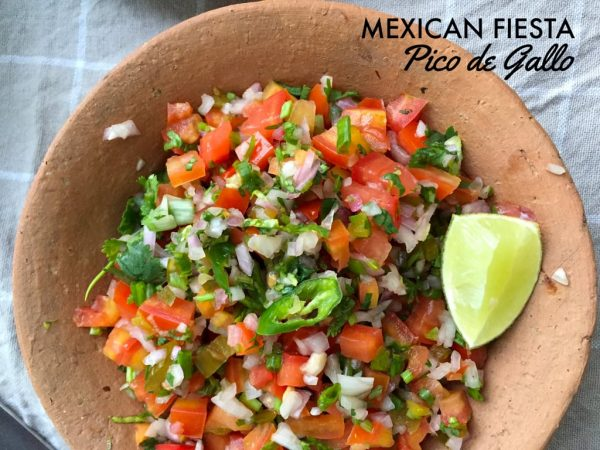 Pico de Gallo - Vegetarian Mexican Recipes