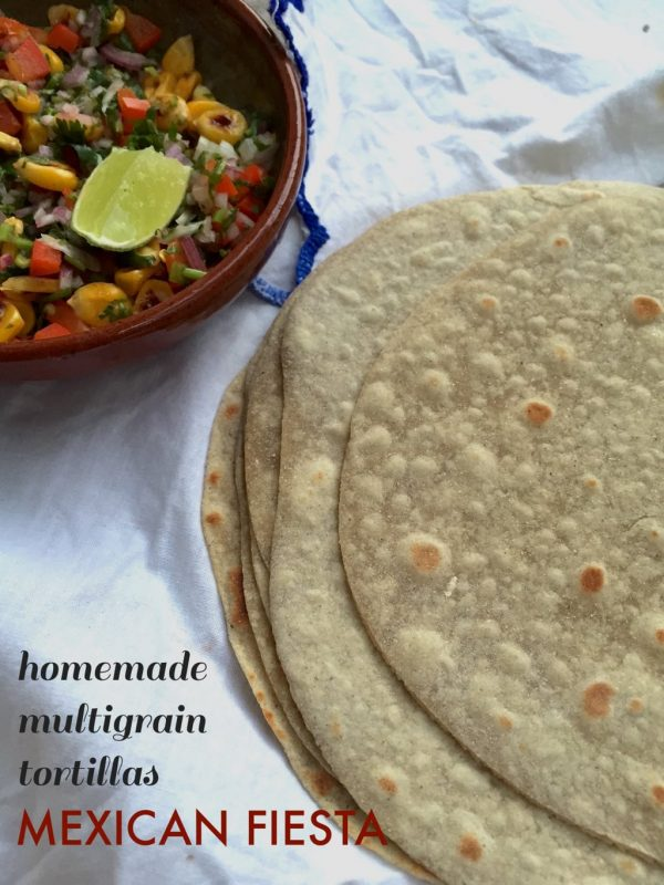 Homemade Multigrain Tortillas
