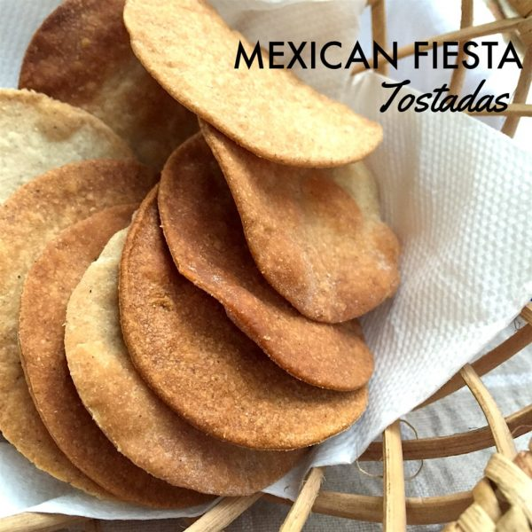 Homemade Multigrain Tostada Shells