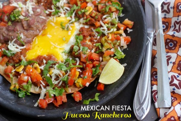 Huevos Rancheros - Vegetarian Mexican Recipes