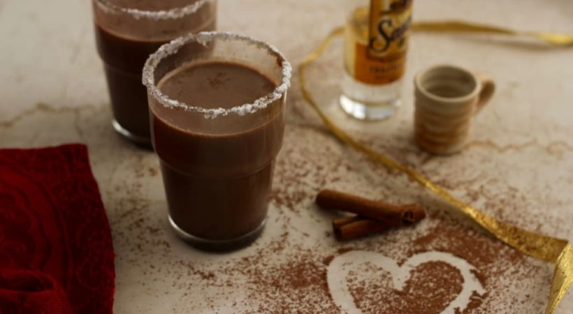 Mexican Boozy Hot Chocolate for Two