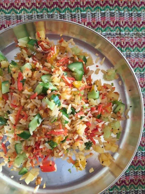 Vegetable Poha - Summer Special