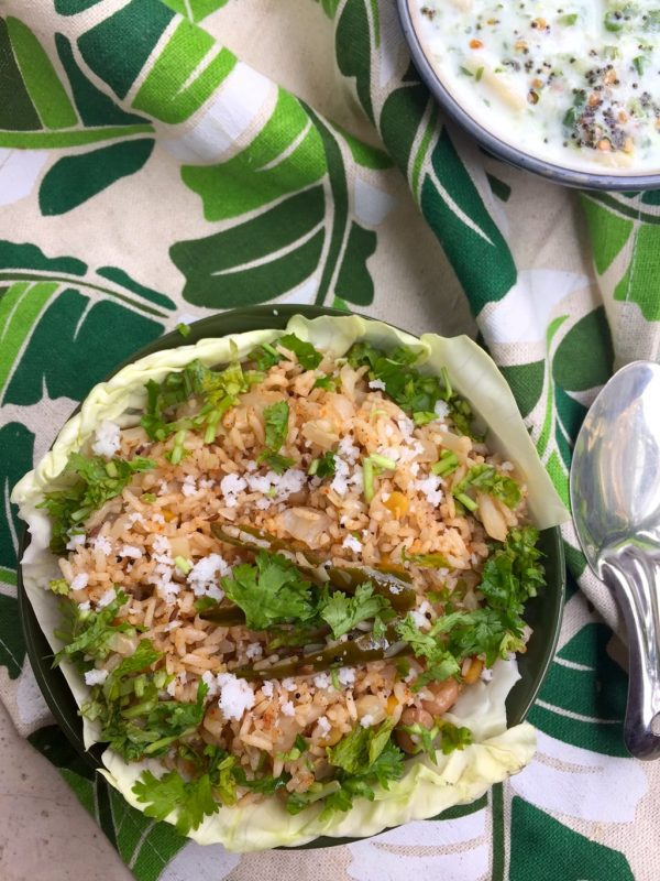 Easy Cabbage Rice