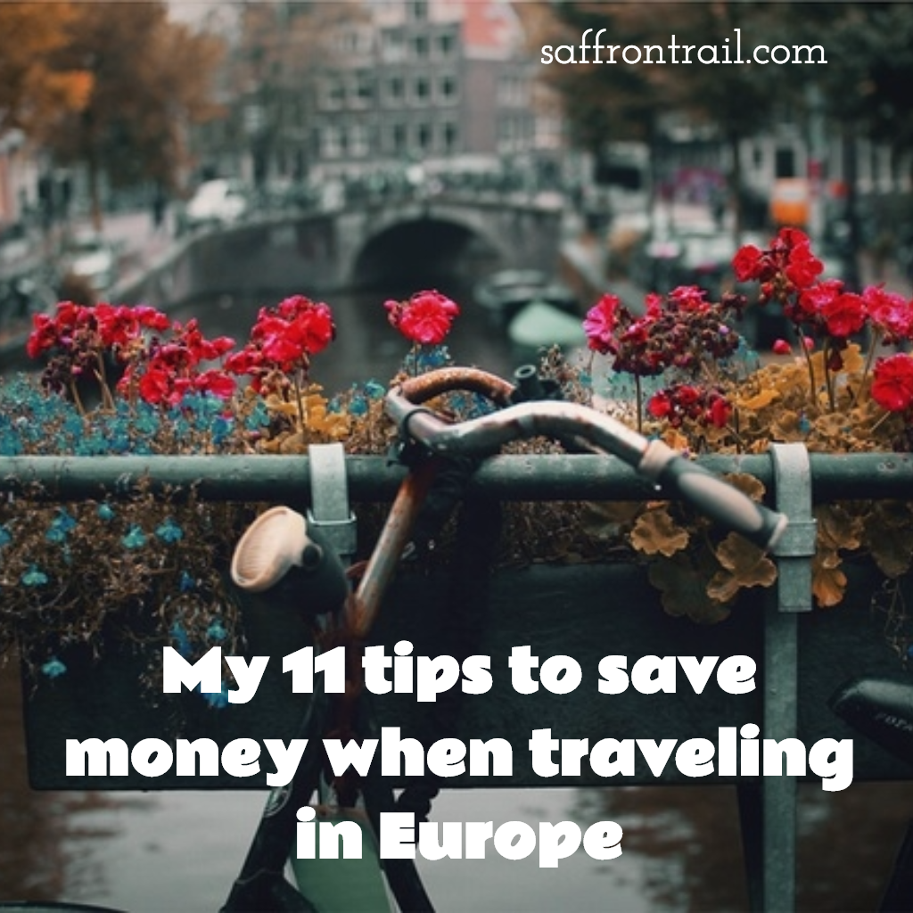 save money traveling in Europe