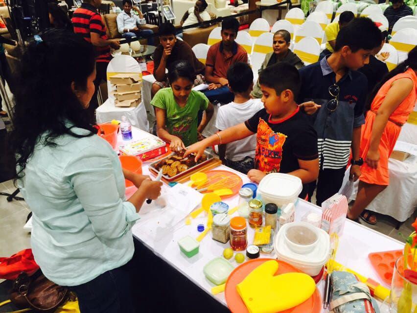 healthy baking workshop