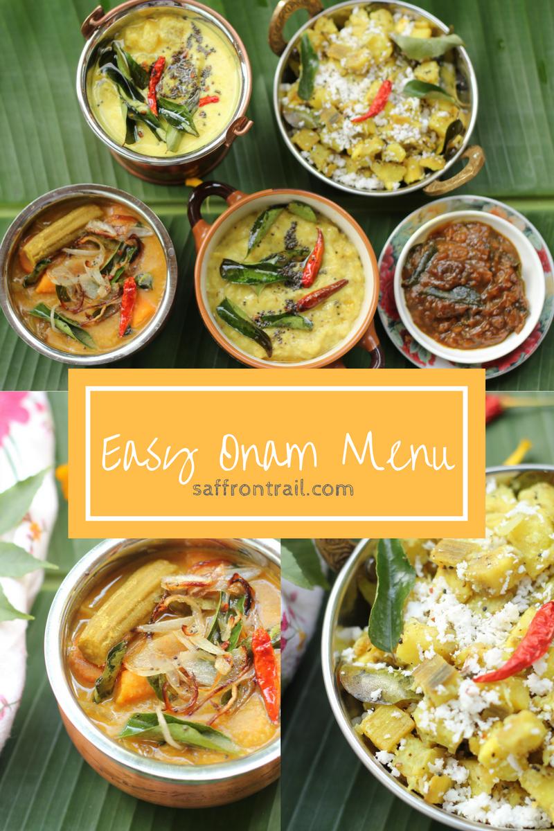 Easy Onam Recipes From Kerala Onam Sadya Recipes