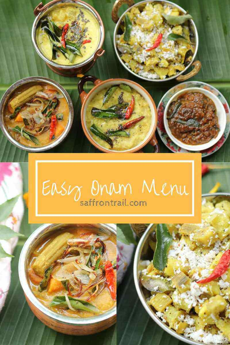 easy Onam recipes