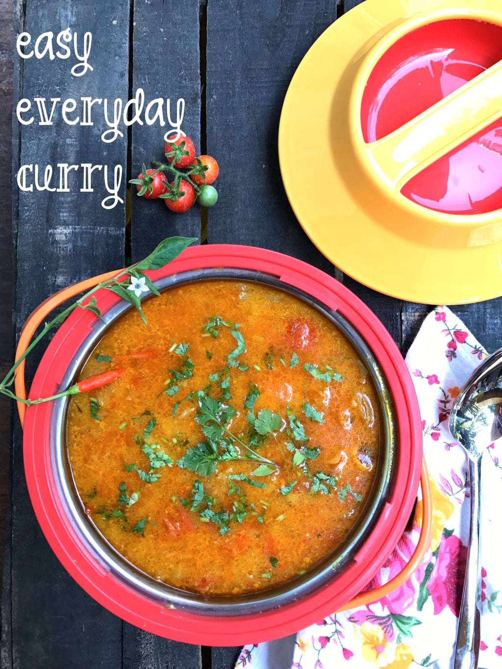 easy vegetarian curry recipe