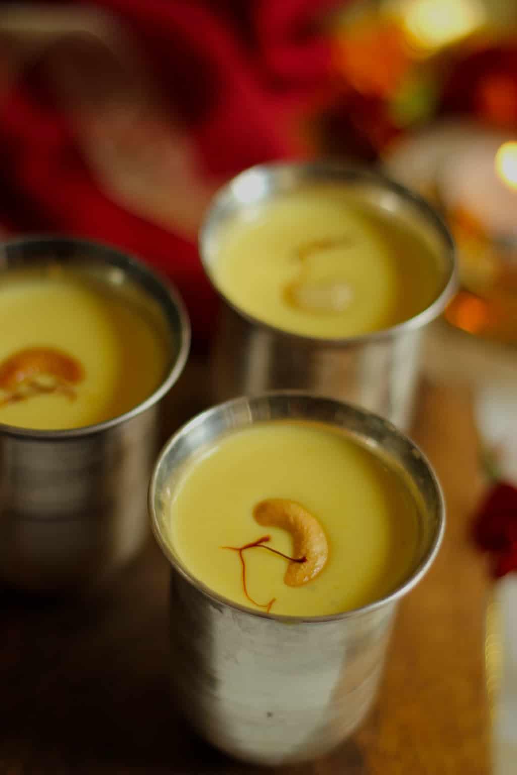 badam kesar kheer-saffron-recipes