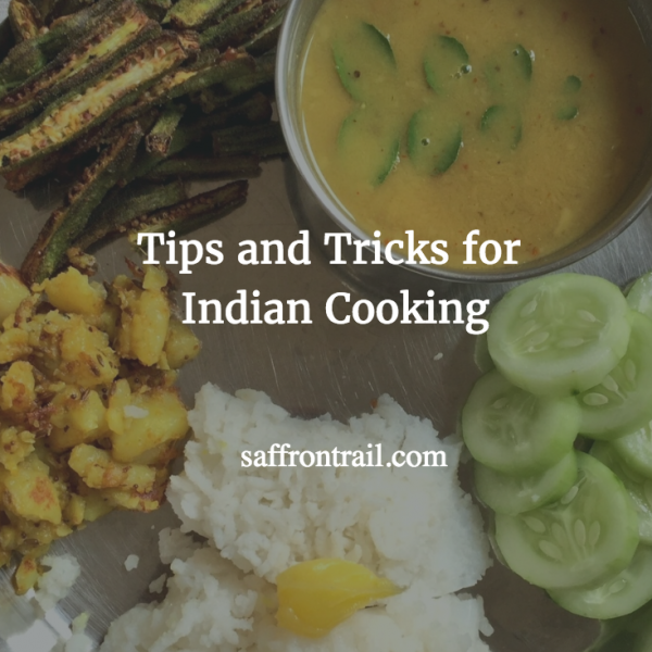 cooking tips Indian cuisine