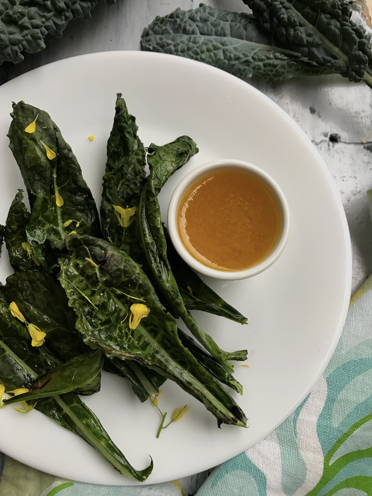 how to cook kale chips in oven