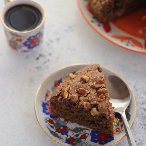 coffee flavoured coffee cake