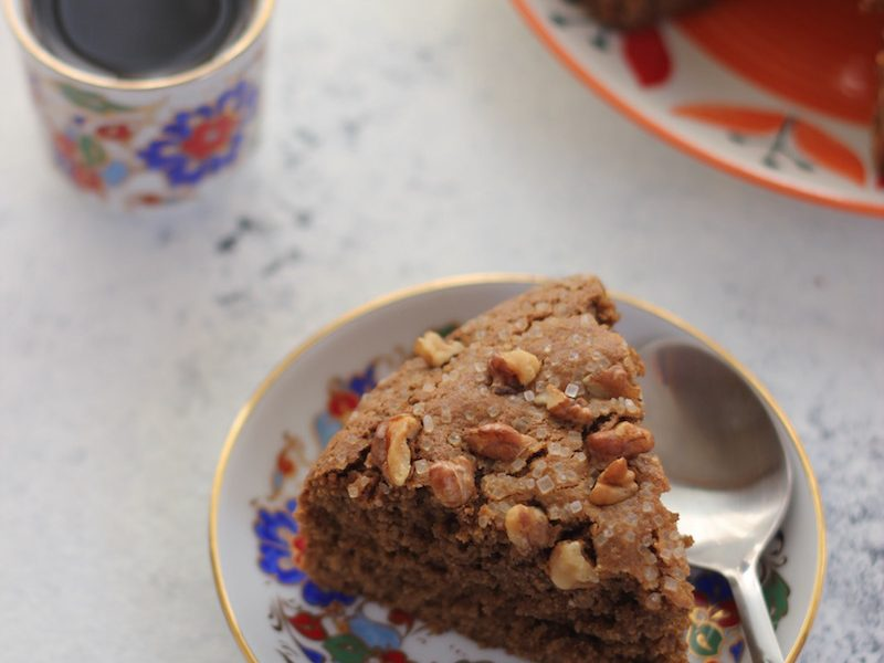 coffee flavoured coffee cake