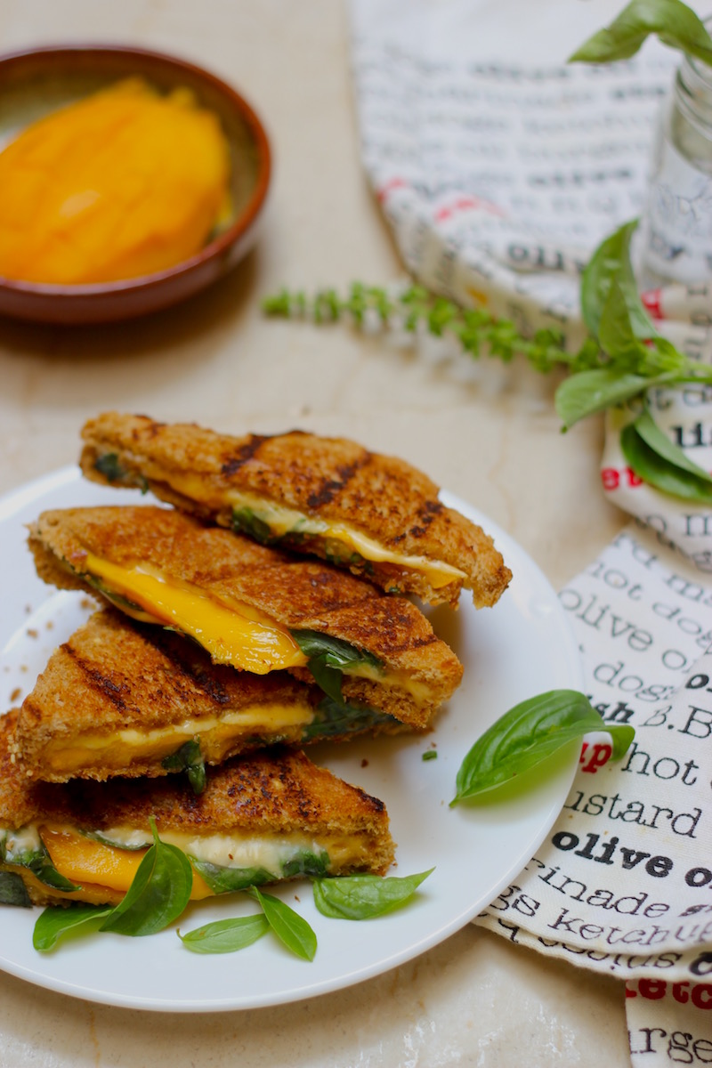 unusual-mango-basil-grilled-cheese-sandwich