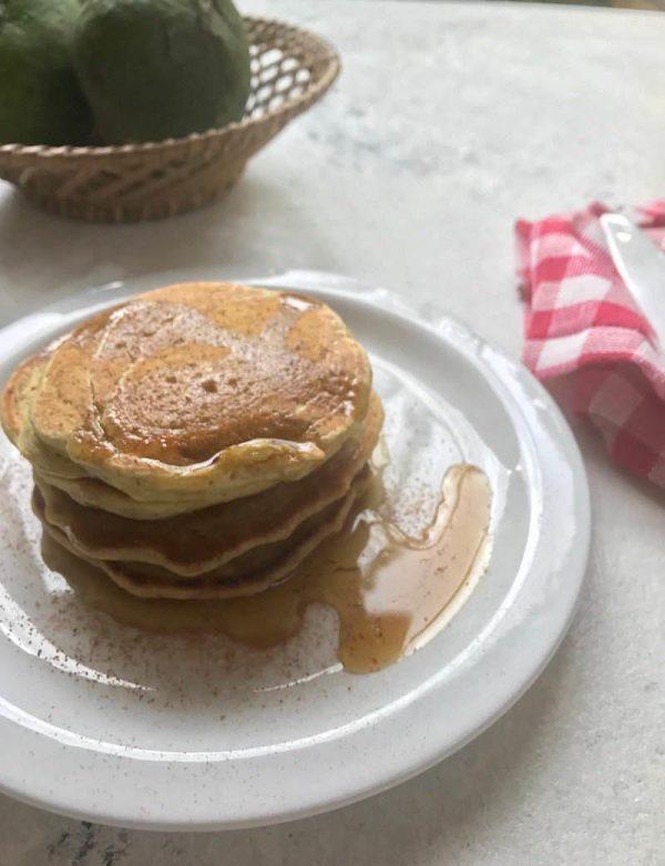 Avocado Cinnamon Pancakes