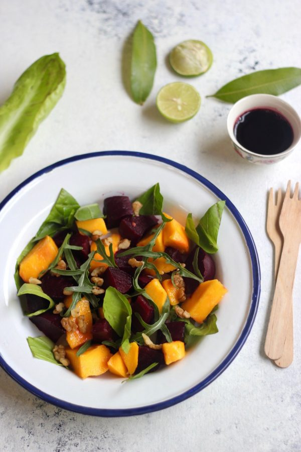 Beet and Mango Salad